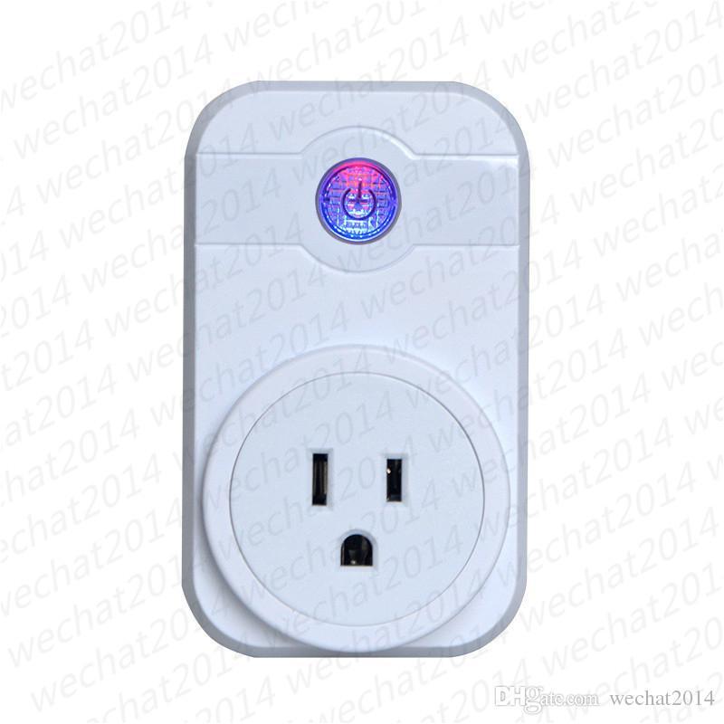 Inteligente Interruptor de Tomada Wi-fi Interruptor de Tomada de Controle Remoto CN REINO UNIDO EUA DA UE Tomada de Sincronização para Smart Home Automation