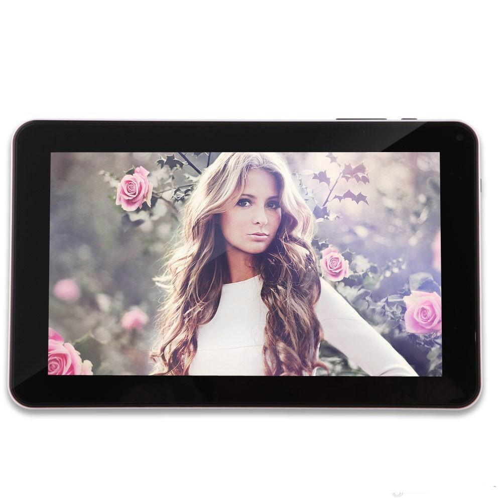 Quad Core 9 inch A33 Tablet PC with Bluetooth flash 1GB RAM 8GB ROM Allwinner A33 Andriod 4.4 1.5Ghz US01