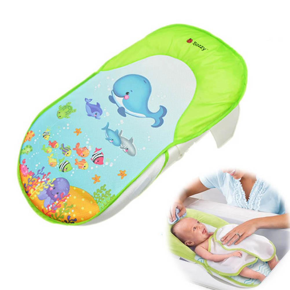 2018 Sozzy Foldable Newborn Bath Tub/Bed/Pad Kids Shower Net Baths ...