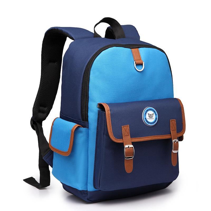 BAIJIAWEI 2017 Children Backpacks Primary Students Backpack for Boys Girls Waterproof Schoolbag For Kids Mochila Infantil Zip