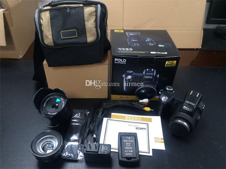 New PROTAX POLO D7100 digital camera 33MP FULL HD1080P 24X optical zoom Auto Focus Professional Camcorder Free DHL