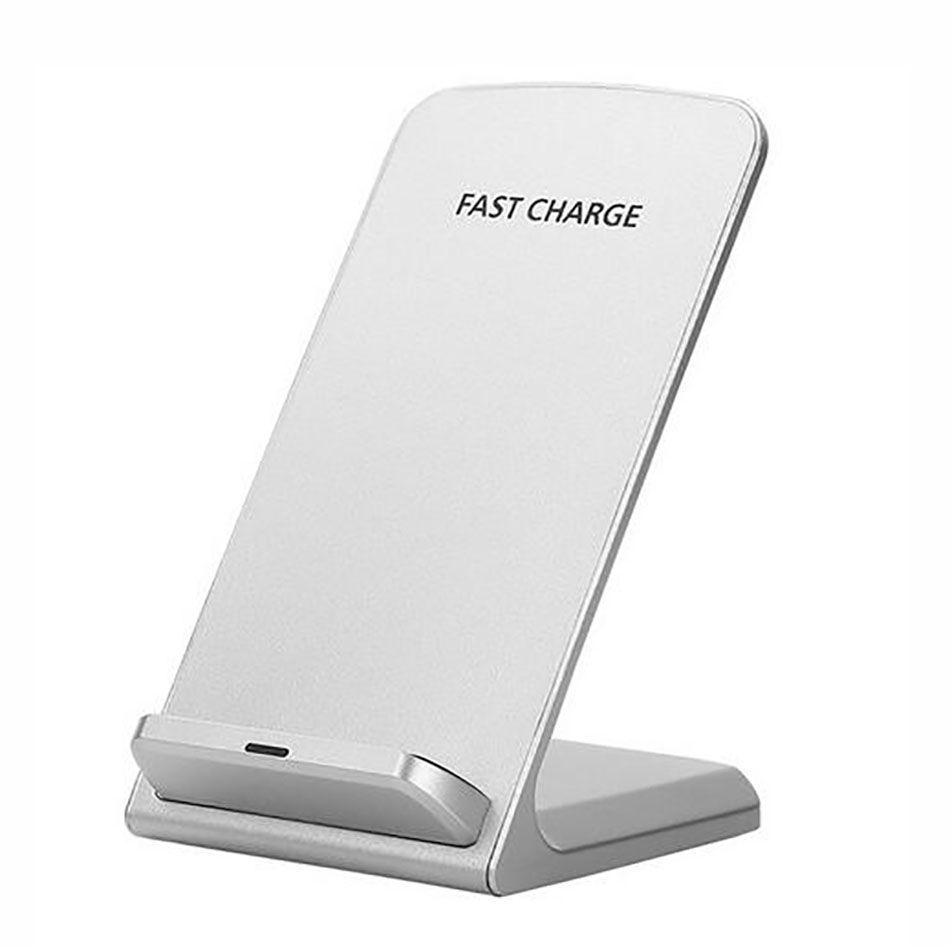 아이폰에 대한 최고 품질 치 빠른 무선 충전기 5V 2A 9V 1.3A 10W 2 코일 빠른 충전 스탠드 패드는 삼성 S9 플러스 샤오 미의 mix2s을 X