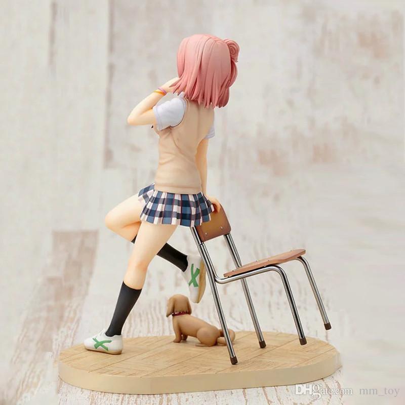 Anime My Teen Romantic Comedy SNAFU Hamachi OreGairu Yuigahama Yui Yukinoshita Yukino Action Figure Collectible Best Gift Toy