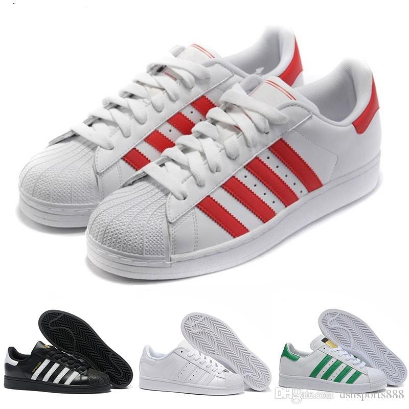 45caf90ba9c Compre Adidas Superstar 80s Envío Gratis Hombre Mujer Superstars Zapatos  Zapatillas Super Star Casual Shoes Mujeres Shell Zapatos Venta Caliente  Zapatos ...
