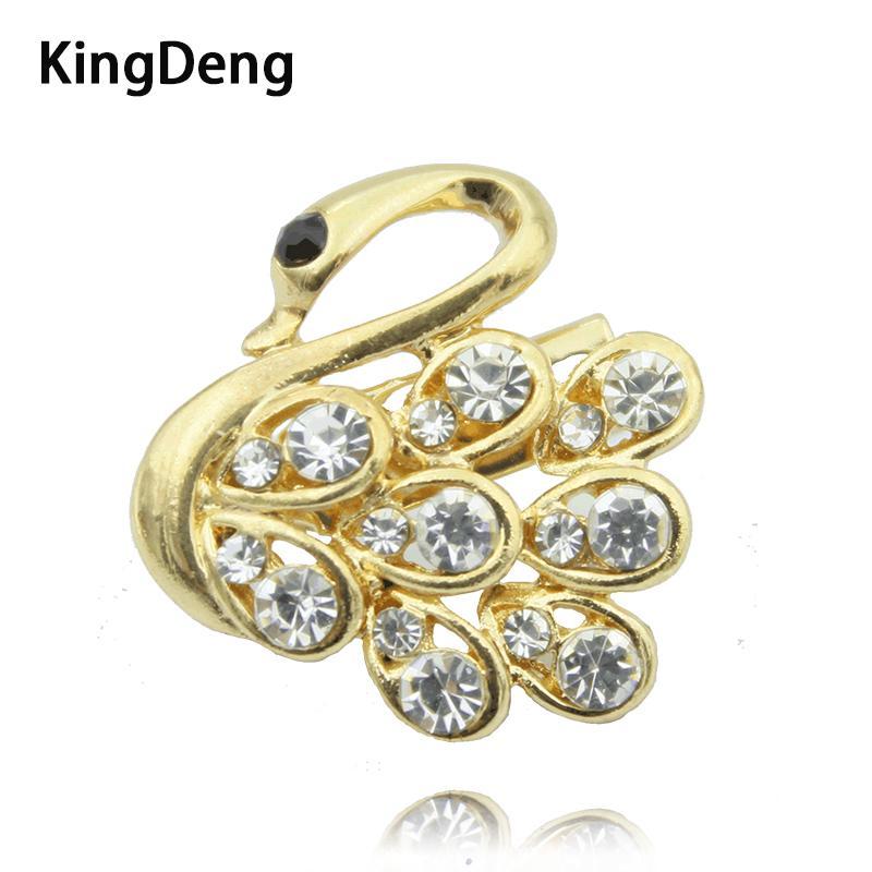 KingDeng Golden Goose Brooch Brooches For Shirt Women Accessories ... f938977536d1