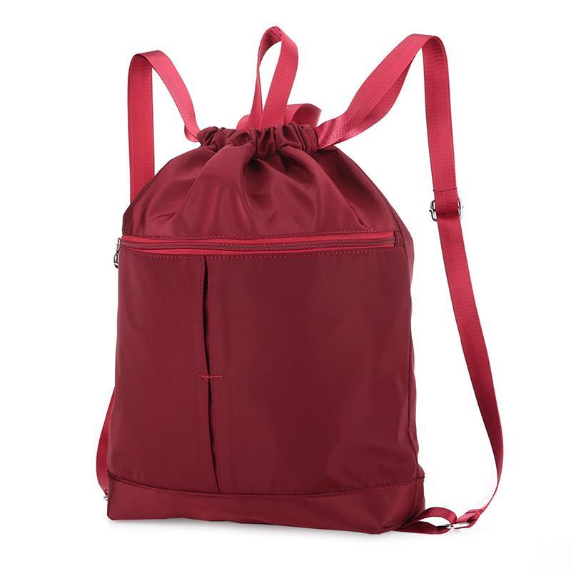 cacfad909dcb 2019 Sports Gym Bag Women Men Nylon Waterproof Foldable Fitness Backpack  Outdoor Hiking Knapsack Yoga Pilates Sport Bags For Fitness From Hcaihong