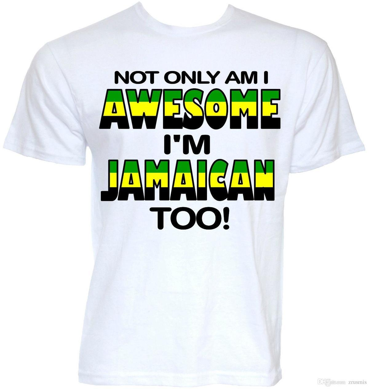 80866e05 MENS FUNNY COOL JAMAICAN JAMAICA FLAG SLOGAN T SHIRTS NOVELTY JOKE GIFTS  PRESENT T Shirt Tops Summer Cool Funny T Shirt Witty Tee Shirts Tee Shirt  Funny ...