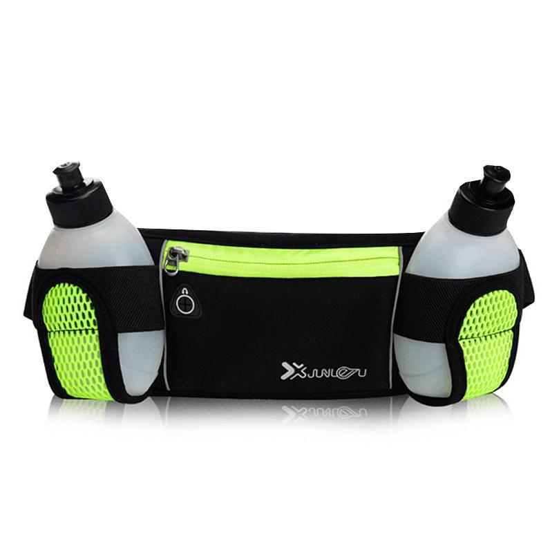 Relojes Y Joyas Smart Running Waist Pack Outdoor Sports Hiking Racing Gym Fitness Lightweight Hydration Belt Water Bottle Hip Bag