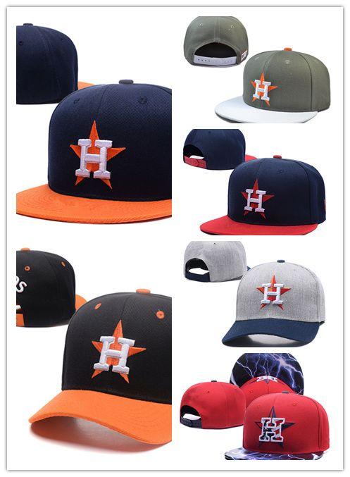 2018 Wholesale Black Adjustable Embroidery Houston Snapback Hats