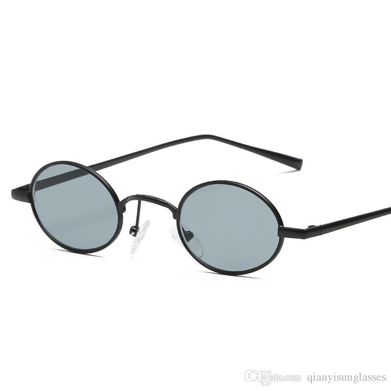 Compre Moda Pequenos Óculos De Sol Ovais Para As Mulheres Retro Eyewear  Vermelho Óculos Vintage Moldura De Metal Ouro Espelho Pontos De  Qianyisunglasses, ... 14e2b81772