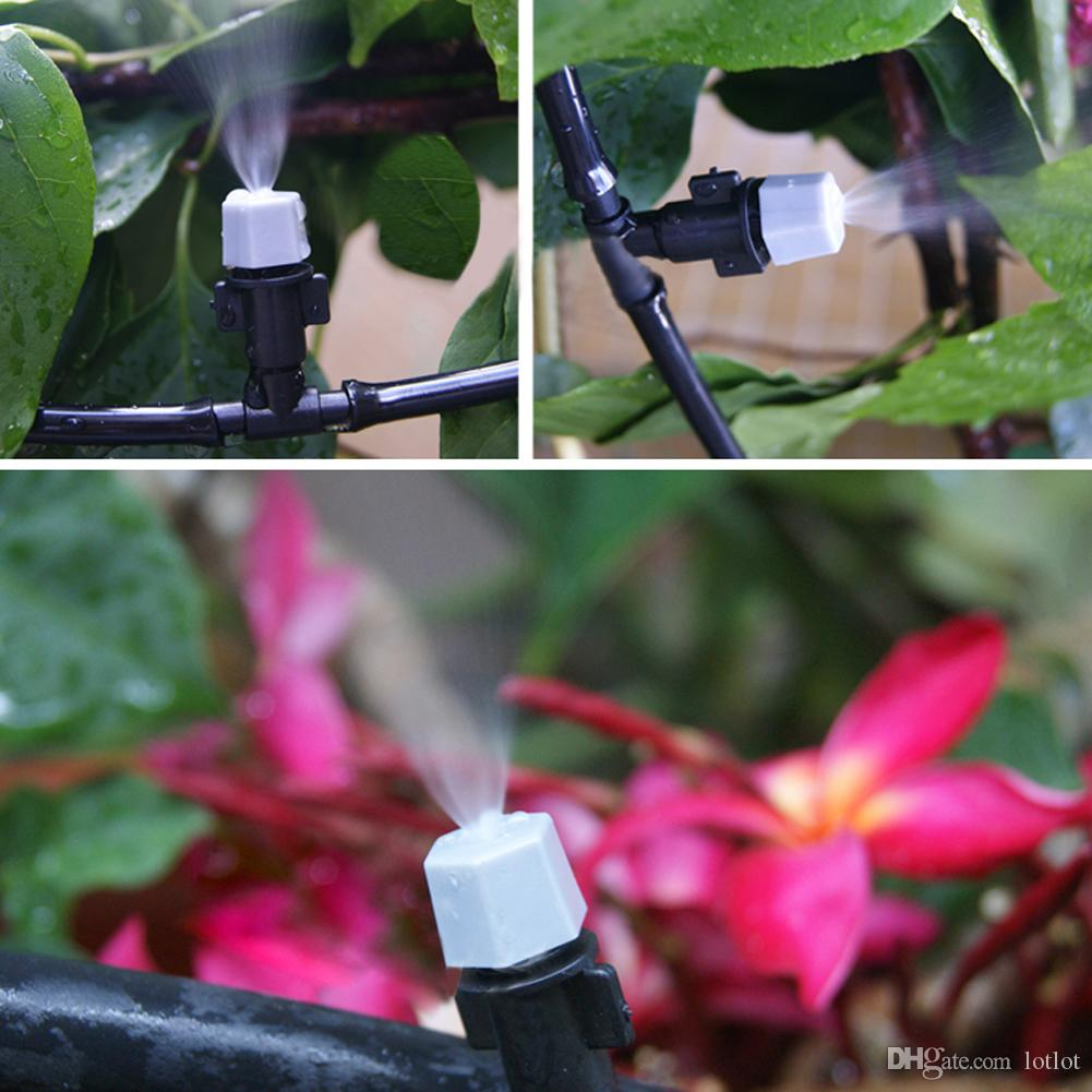 5m 10m 15m Automatic Micro Drip Irrigation System Sprinkler Water irrigation With Adjustable Dripper For Watering Flowers E5M1