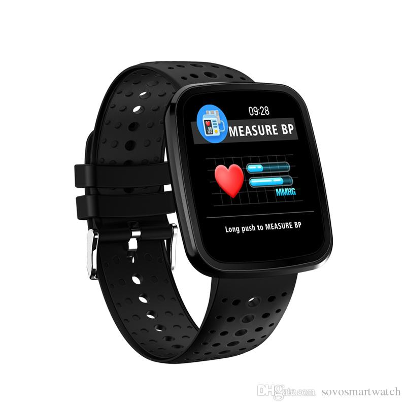 91de5abcec1 SOVO Smart Wristband V6 Smart Band Heart Rate Monitor Sports Tracker  Fitness Bracelet IP67 Smartwatch for IOS Android Smart Band Apple Watch Band  Mi Band 3 ...