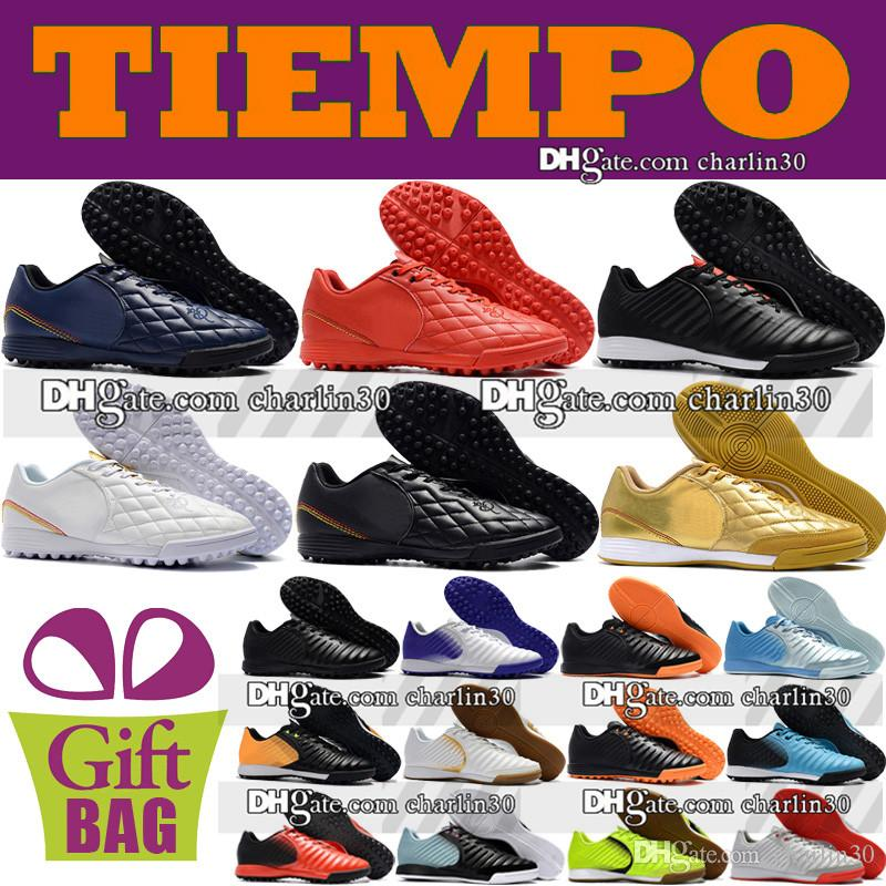 029af2eb862f New 2018 Original Indoor Soccer Shoes Mens Trainers Tiempo Ligera IV TF IC  Turf Soccer Cleats Low Indoor Tiempo Leather Football Boots Riding Boots  Cheap ...