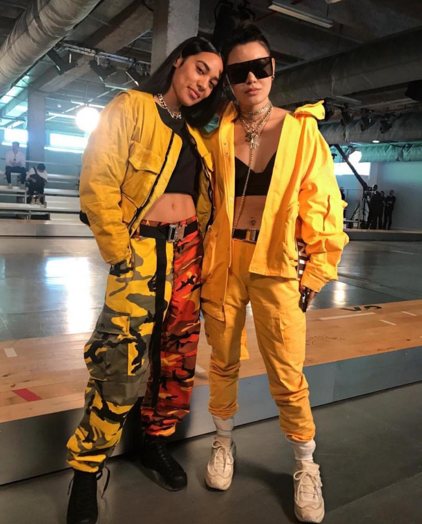 Acquista Commercio All ingrosso 2018 Nuovo Stile Hip Hop Doppio Camouflage  Abbigliamento Da Lavoro Piede Pantaloni Tasca Più Pantaloni Casual A  74.26  Dal ... d24777b449ac