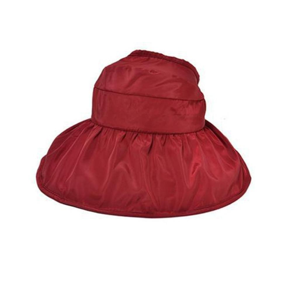 2018 Trendy Korean Fashion Women Summer Sunscreen Hat Classic Design Anti UV  Foldable Ladies Solid Color Female Beach Hat Sun Hats For Men Hats And Caps  ... 4432d788f186