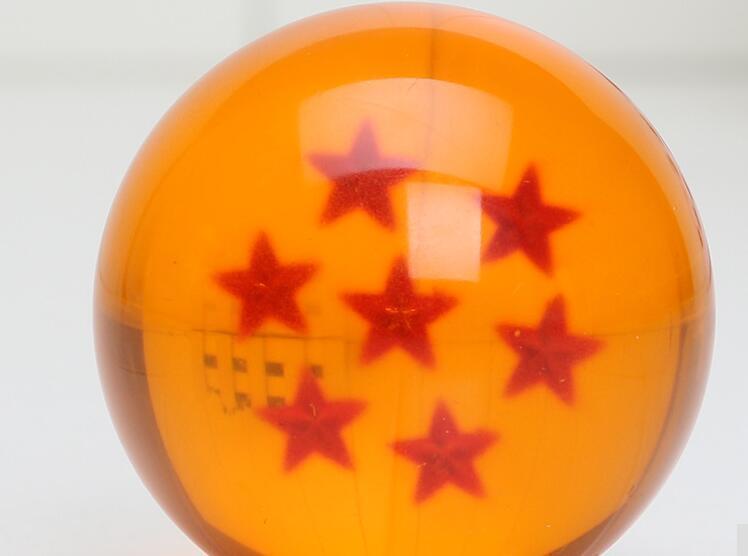 Anime Dragon Ball 7 bola de cristal na mão para fazer o diâmetro de 4 cm Boxed Set / frete grátis!