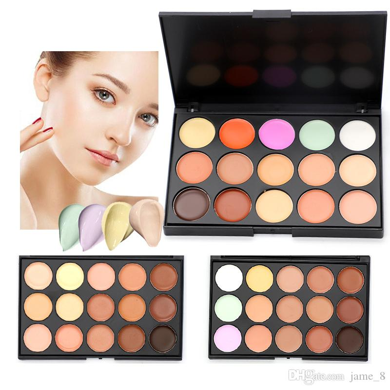 Mini Contour Palette Make Up Set Professional Concealer Palette Makeup Brush Face Cream Concealer