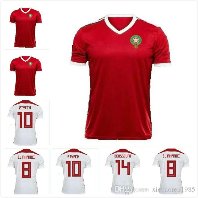 daf5fae92 Morocco 2018 World Cup Kit soccer jerseys football t shirt ready for sale!  The final version is based on the formal version