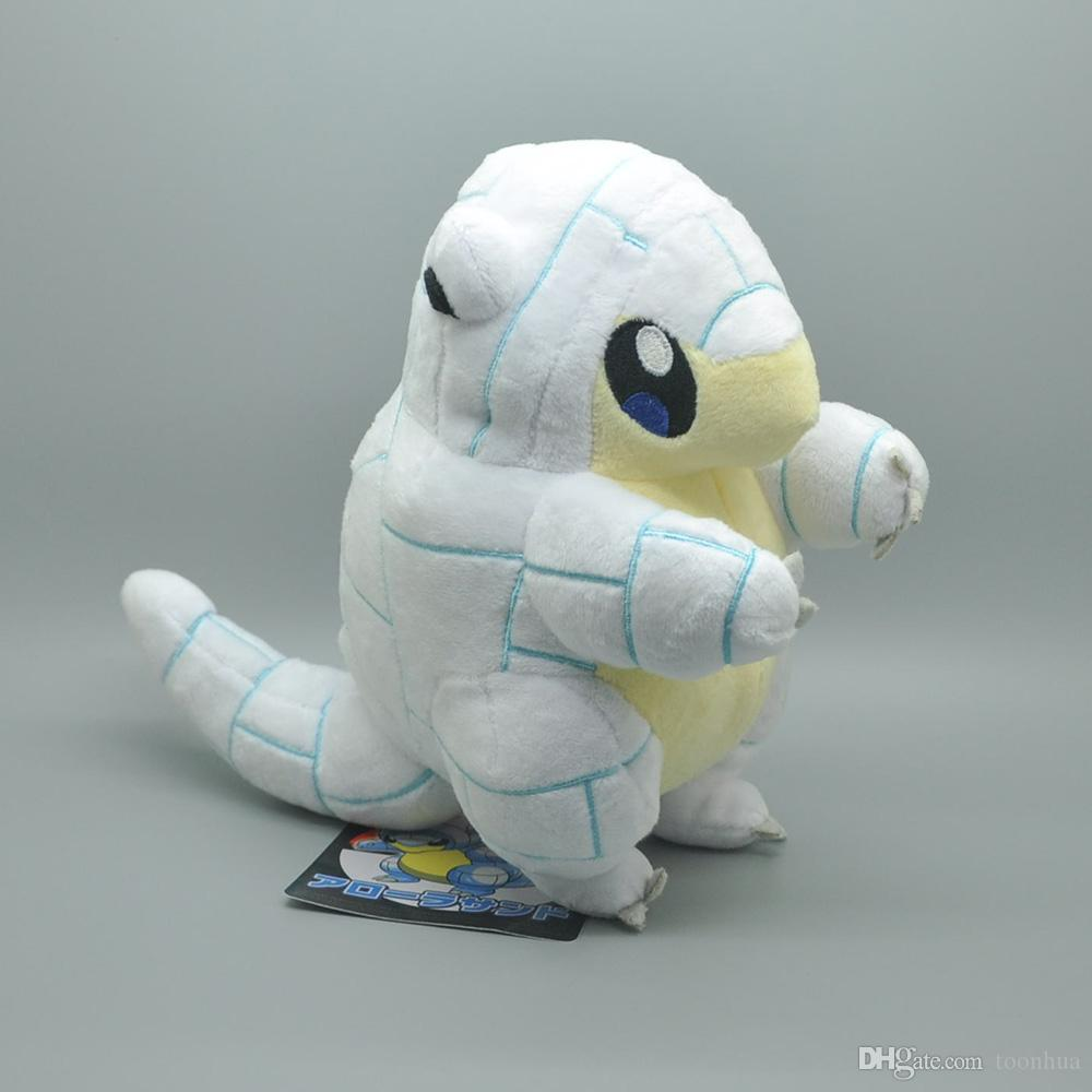 New 20CM Alola Ice Sandshrew Plush Doll