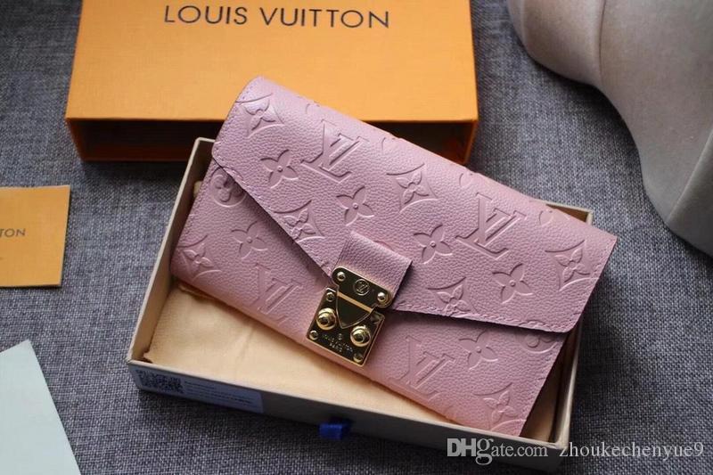 5edc618b906 2018 Wallet Women Red Leather Zipper Long Women Wallet Phone Bag Luxury Brand  Wallets Designer Purse Card Holder Clutch Wallet Men Purse N13 Cute Wallets  ...