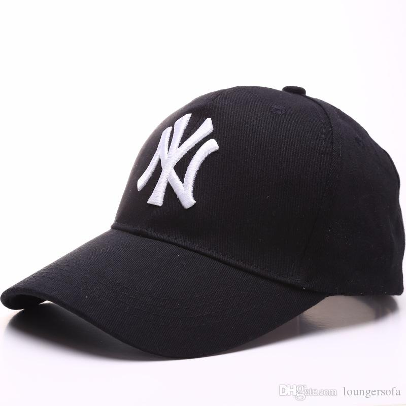 ef3d0246976 2019 New Brand Ny Long Brim Baseball Cap Summer Men Women Classic Peaked Caps  Fashion Outdoor Sports Hat Hot Sale 7 8yy Y From Loungersofa