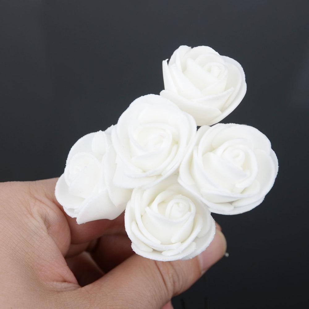 Fashion Wedding Bridal Rose Flower Hairpins Hairstick Hair Accessories Women Rose Flower Hair Pins Hair Clips Wholesale