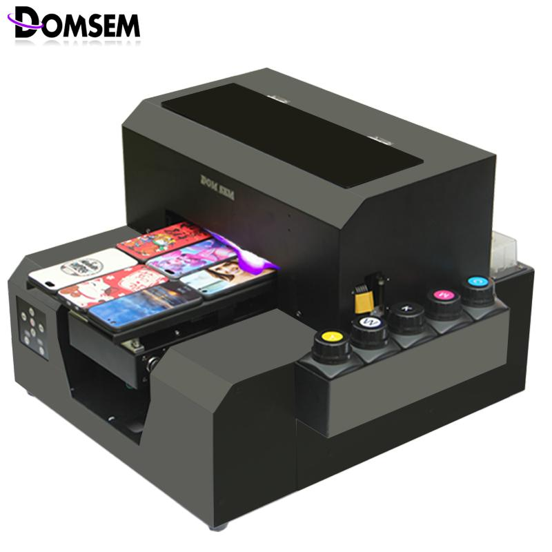 domsem a4 uv printer cell phone case plastic card transparent business card printing machine sublimation printer sublimation printers from ellanance - Plastic Card Printing Machine