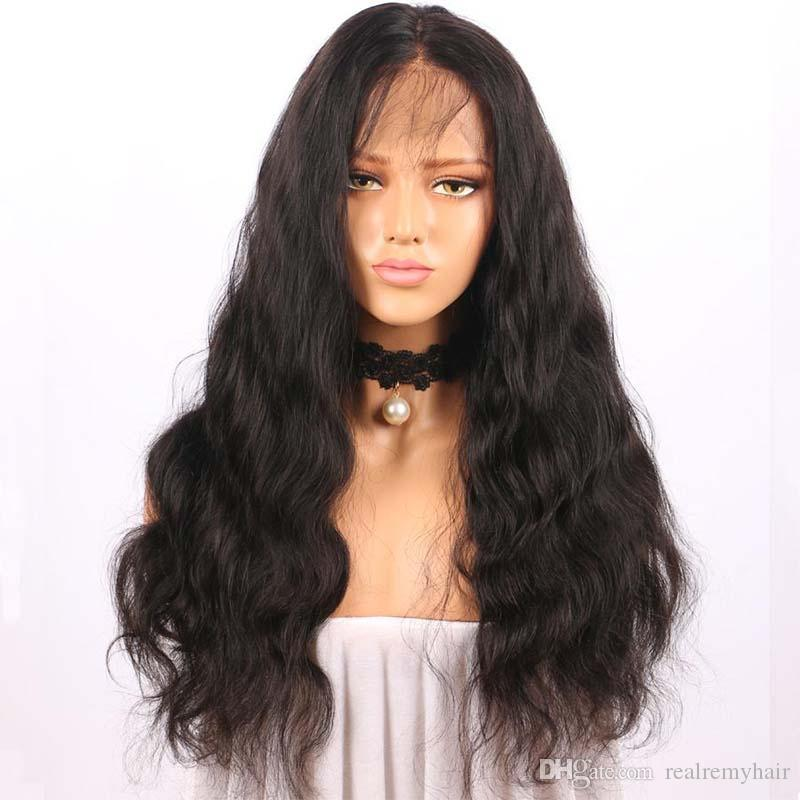 150% Density Lace Front Human Hair Wigs For Black Women Body Wave Brazilian 360 Lace Frontal Wig Pre Plucked With Baby Hair