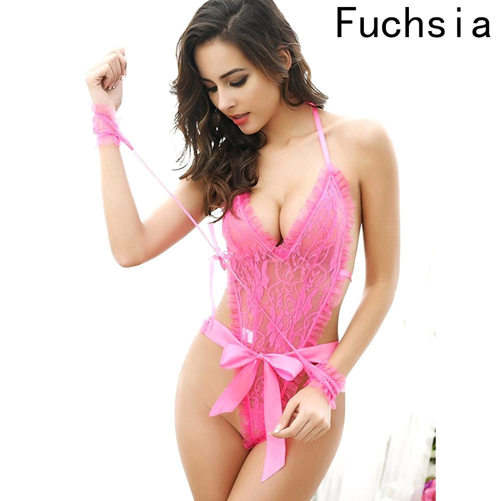 34067ba18b9 2019 2018 Sexy Lingerie Women Lingerie Sexy Hot Erotic Plus Size Nightwear  Sex Jumpsuits Costumes From Chikui