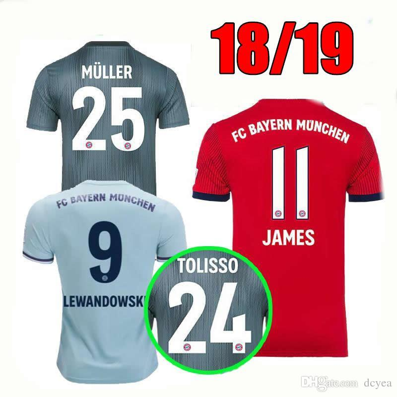 1dc0f411e ... promo code for 2019 25 muller home soccer jersey 18 19 home red soccer  shirt customized