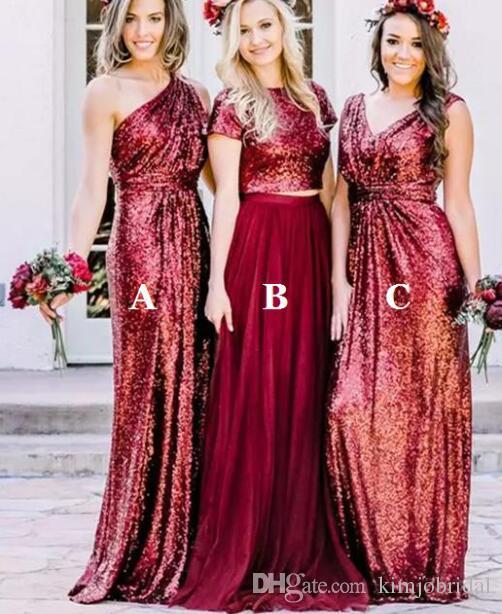 Sequin Bridesmaid Dress
