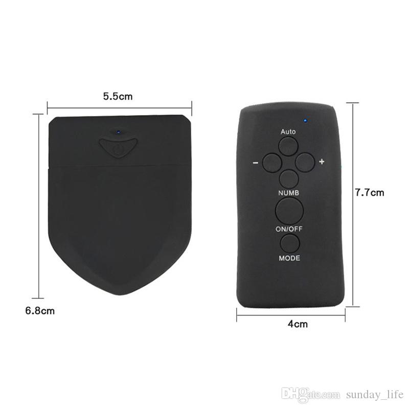 !!!Wireless Remote Control Electric Shock Host Electro Stimulation Double Output PowerBox Medical Electro Shock Sex Toy