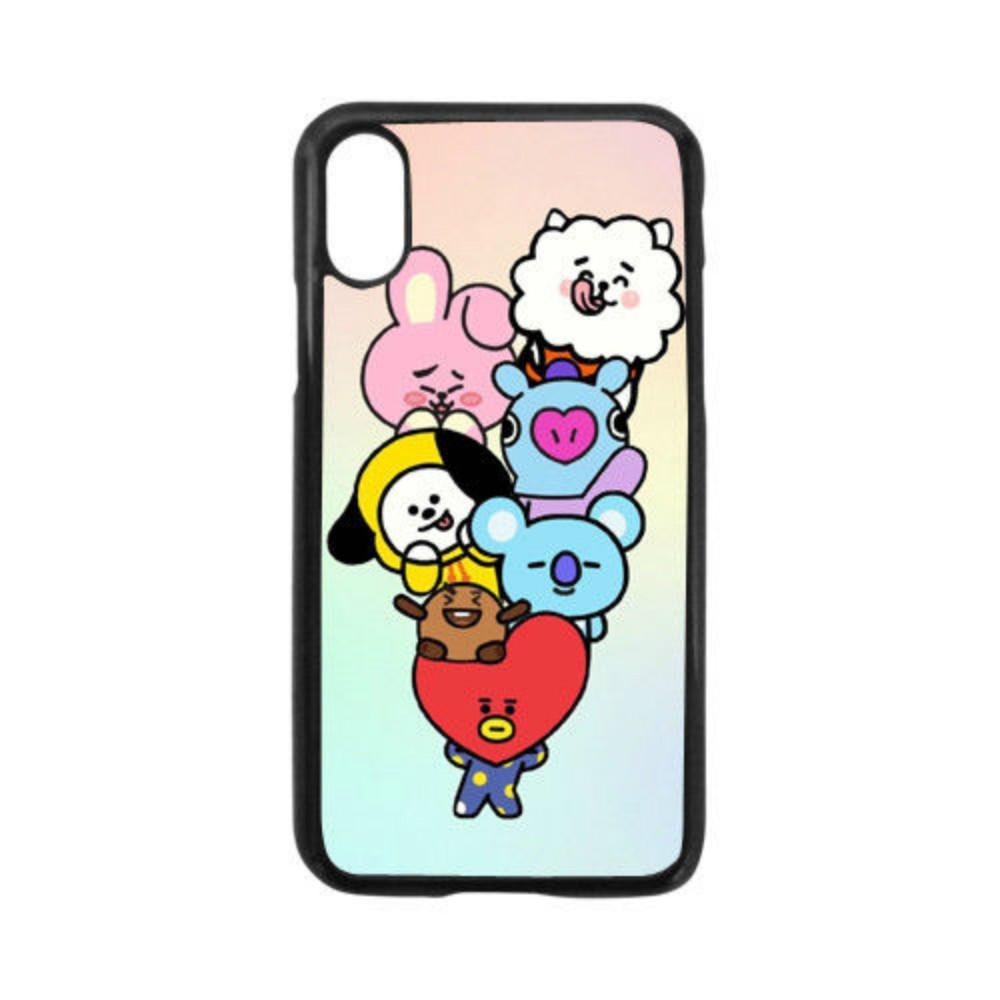 size 40 4d892 dacf3 BTS BT21 Phone Case For Iphone 5c 5s 6s 6plus 6splus 7 7plus Samsung Galaxy  S5 S6 S6ep S7 S7ep
