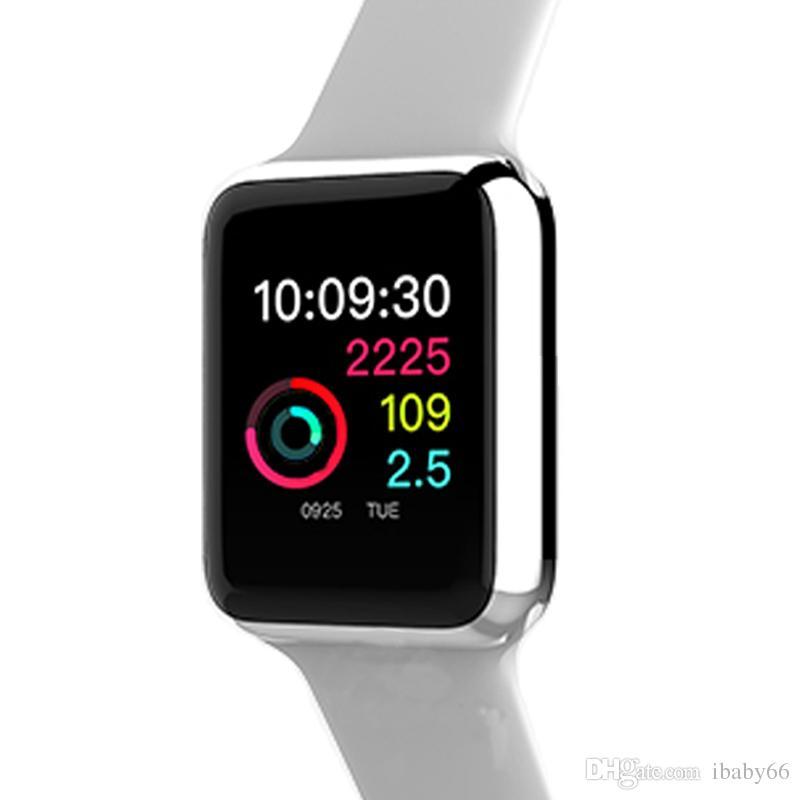 f620cce266a6f Smartwatch Für Ios W53 Neue Bluetooth Smart Watch Serie 3 42mm Smartwatch  Spiegel Edelstahl Drahtlose Ladegerät Fall Für Iphone Und Android Telefon  ...