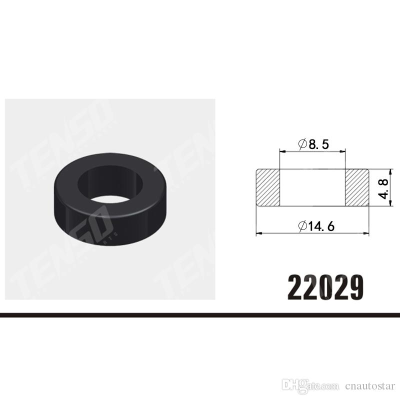 100pcs Free shipping! Universal Injector Viton Oring High Temperature  rubber seals o ring for fuel injector service kit 22029