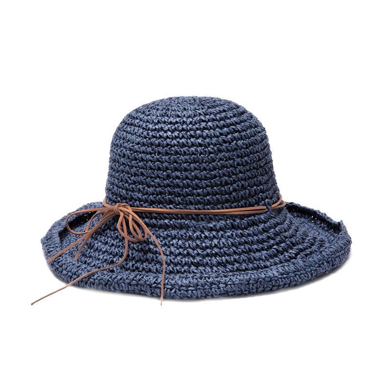f0eac0ba95d Summer New Arrived Korean Style Handmade Crochet Straw Hat ...