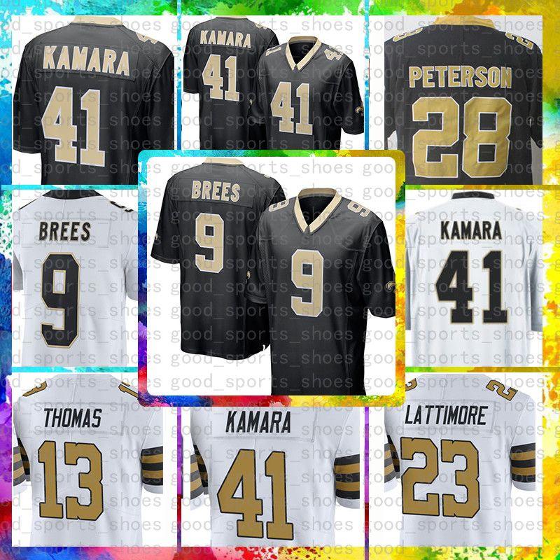 ... sweden 2018 top sale 9 drew brees jersey new orleans saints mens 41  alvin kamara 23 d575854b0