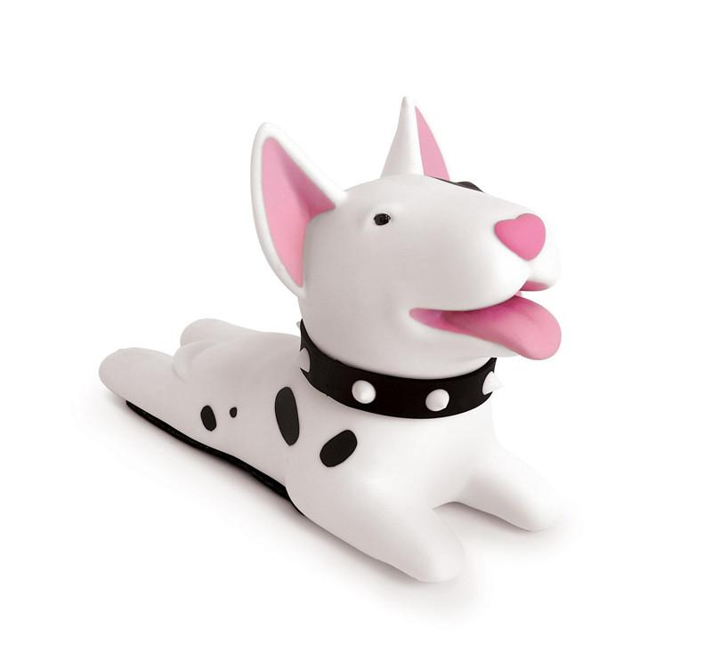 72d8f407dc1 Compre Semk Perro De Dibujos Animados Lindo Titular De Tapón De La Puerta Bull  Terrier PVC De Seguridad Para El Bebé Decoración Del Hogar Perro Figuras De  ...