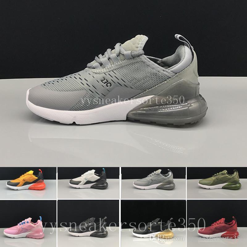 huge selection of 4bee9 d359d Acquista Nike Air Max 270 Airmax 27c Kids Design Flair 270 Scarpe Sneakers  Da Allenamento Bambini 270 Casual Scarpe Da Donna Stivali Da Donna Scarpa  ...