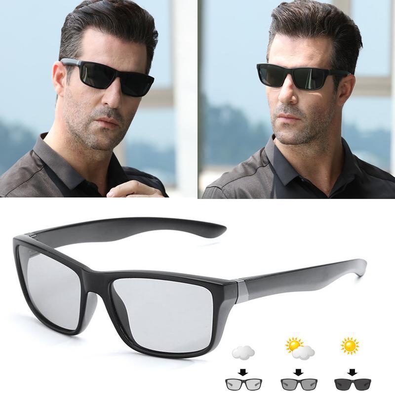 Compre Polarizada Fotocrômico Dos Homens Óculos De Sol Camaleão Condução  Eyewear Homens Mulheres Motoristas Pesca UV400 Óculos De Sol Masculino  Óculos De ... f1203f6f62