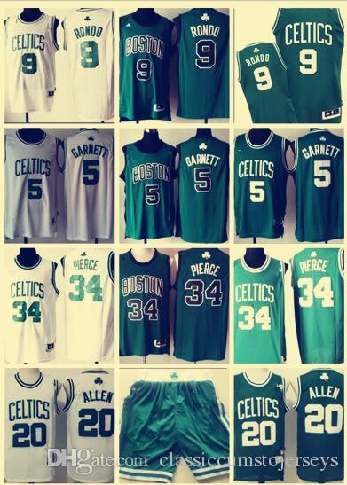 0262909c1 Boston Celtics Big Three 34 Paul Pierce 5 Kevin Garnett 20 Ray Allen ...