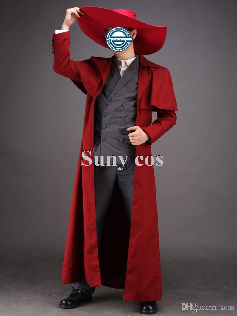 Hellsing Alucard Cosplay Disfraz Halloween