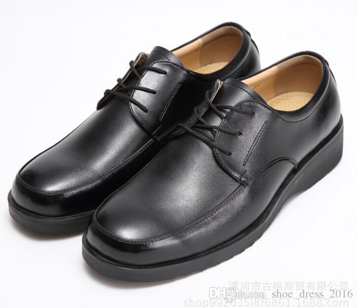 b0c84e97546ad 100% Genuine Leather Mens Dress Shoes Big Size 38- 46 Oxford Shoes ...
