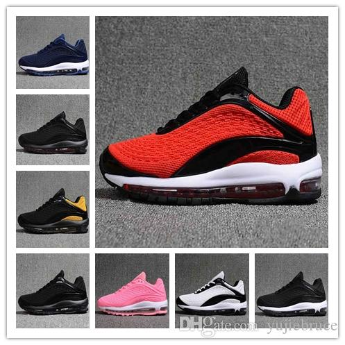 2018 Top Quality Deluxe OG 1999 Shoes Mens Womens Designer White ... 9e8aac088