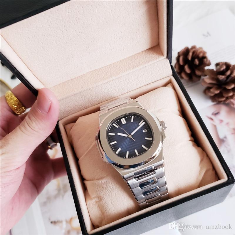 5d28fa2d8 Modelos Celulares Caliente Movimiento Mecánico Automático Grabado Reloj De Lujo  Para Hombre PP Acero Inoxidable Transparente Volver Azul Dial Relojes De ...