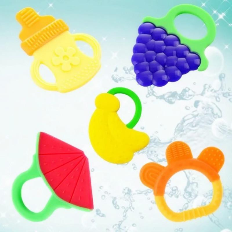 2019 Baby Silicone Teethers Infants Fruits Soothers Watermelon Banana Grape Teething  Ring For 1 3 Months Newborn Toys Gifts Free DHL A737 From Factory goods ... b55a542f1