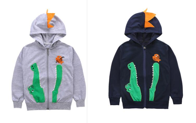 fb4754675 2018 Brand New Casual Kids Baby Boys Autumn Hooded Coat Long Sleeves ...