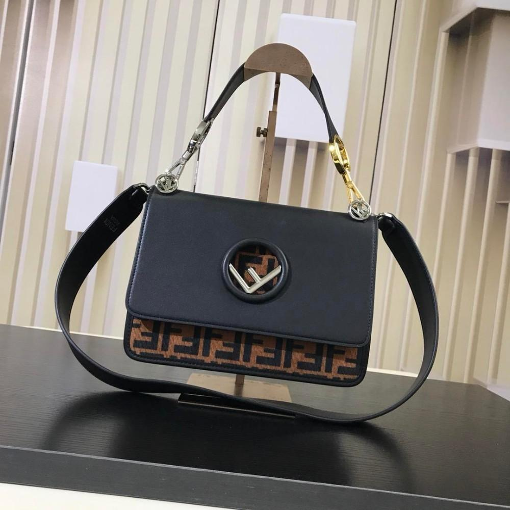 edb601afffa8 Kan I F Shoulder Bag Handbag Women Brand Totes Bags Ladies Crossbody Black  Leather Bags 25 18 10cm Purses For Girls Cheap Backpack Bags For Girls From  ...