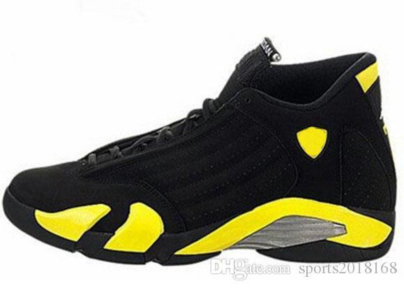 2018 Ücretsiz kargo basketbol ayakkabıları 14 mens Indiglo Okside yeşil Thunder Siyah Ayak Serin Gri erkek sneaker spor ayakkabı boyutu 8-13