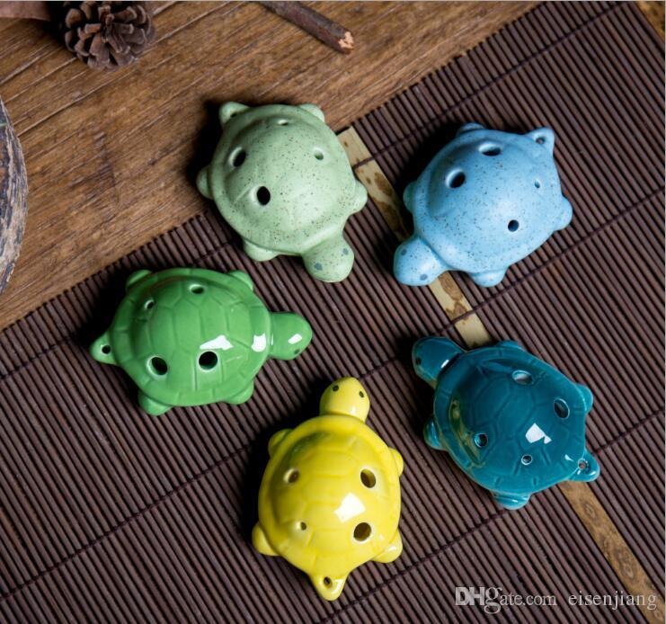 6 hole children's charity toy Ocarina Chinese characteristics musical instrument